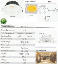 OPS-C5312-12W