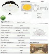 OPS-C5318-18W