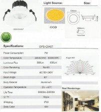 OPS-C5407-7W