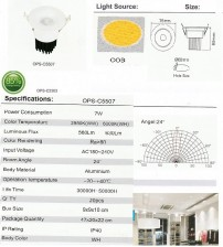 OPS-C5507-7W