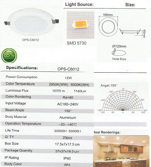OPS-C6012-12W