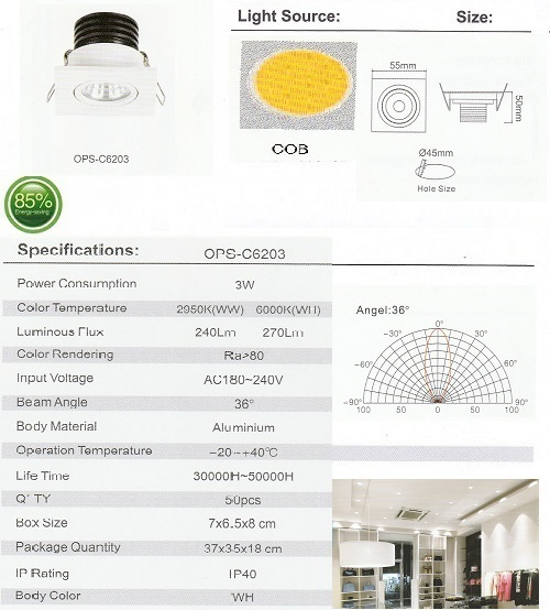 OPS-C6203-3W
