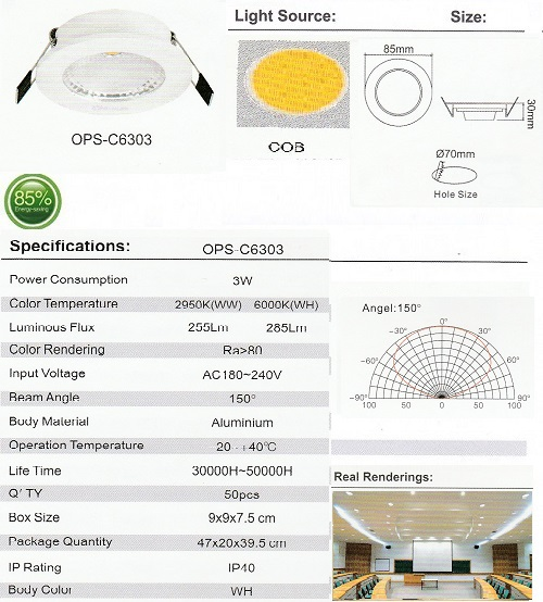 OPS-C6303-3W