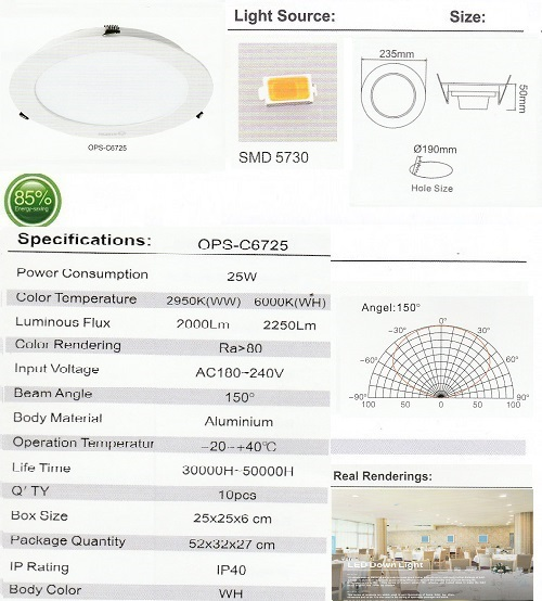 OPS-C6725-25W