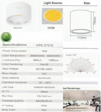 OPS-C7312-12W-OUTBOW