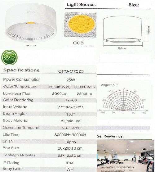 OPS-C7325-25W-OUTBOW