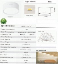 OPS-C7712-12W-OUTBOW