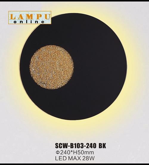 SCW-B103-240-BK
